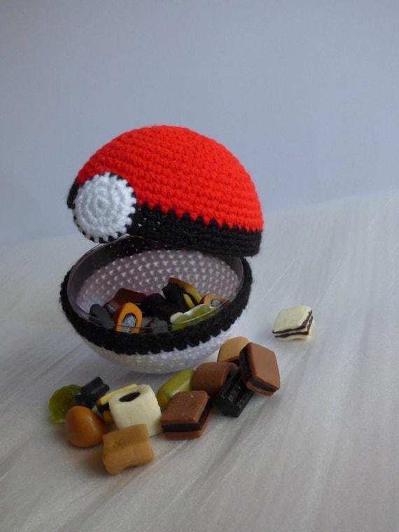 Pokeball Pokeball Häkeln Pokemon Amigurumi Pokemon Häkeln Etsy