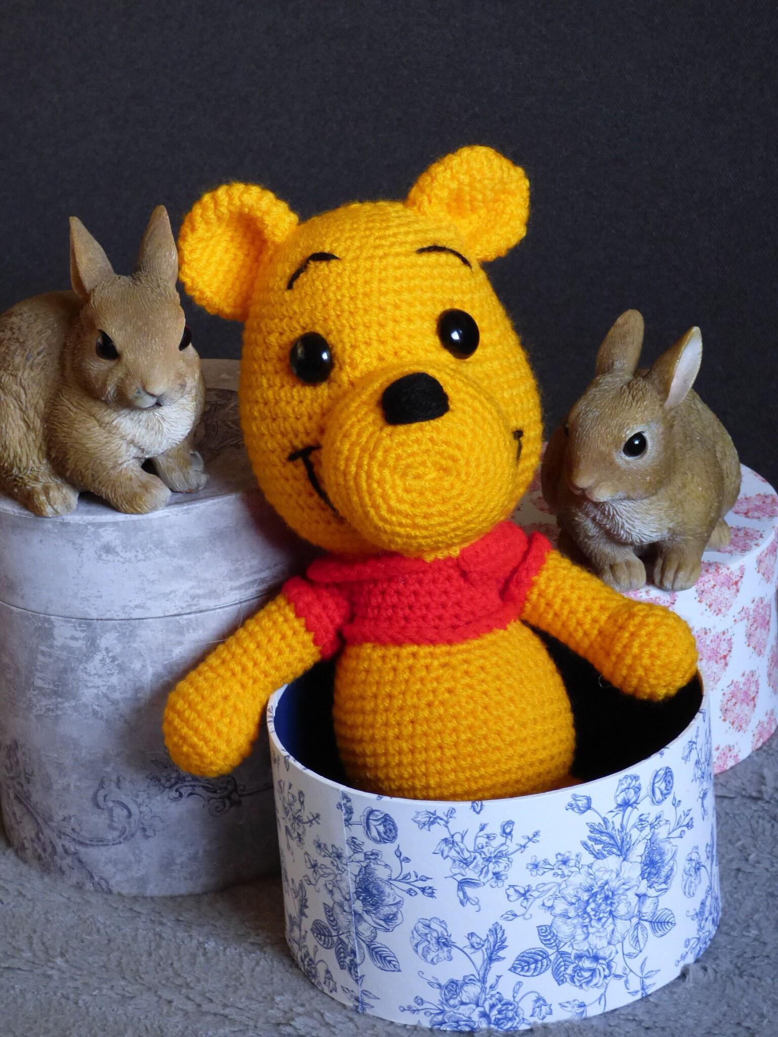 Winnie The Pooh Crochet Animal Winnie The Pooh Amigurumi Etsy