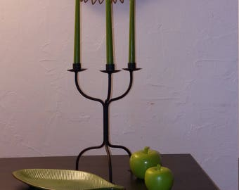 Green decoration objects