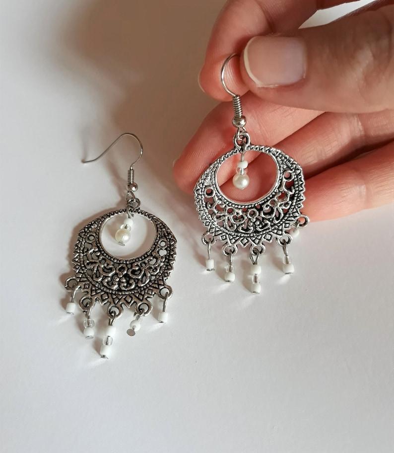 hoop earrings lightweight hoop earrings hoop earrings boho hoop earrings for women earrings handmade hoop earrings charm Earrings boho
