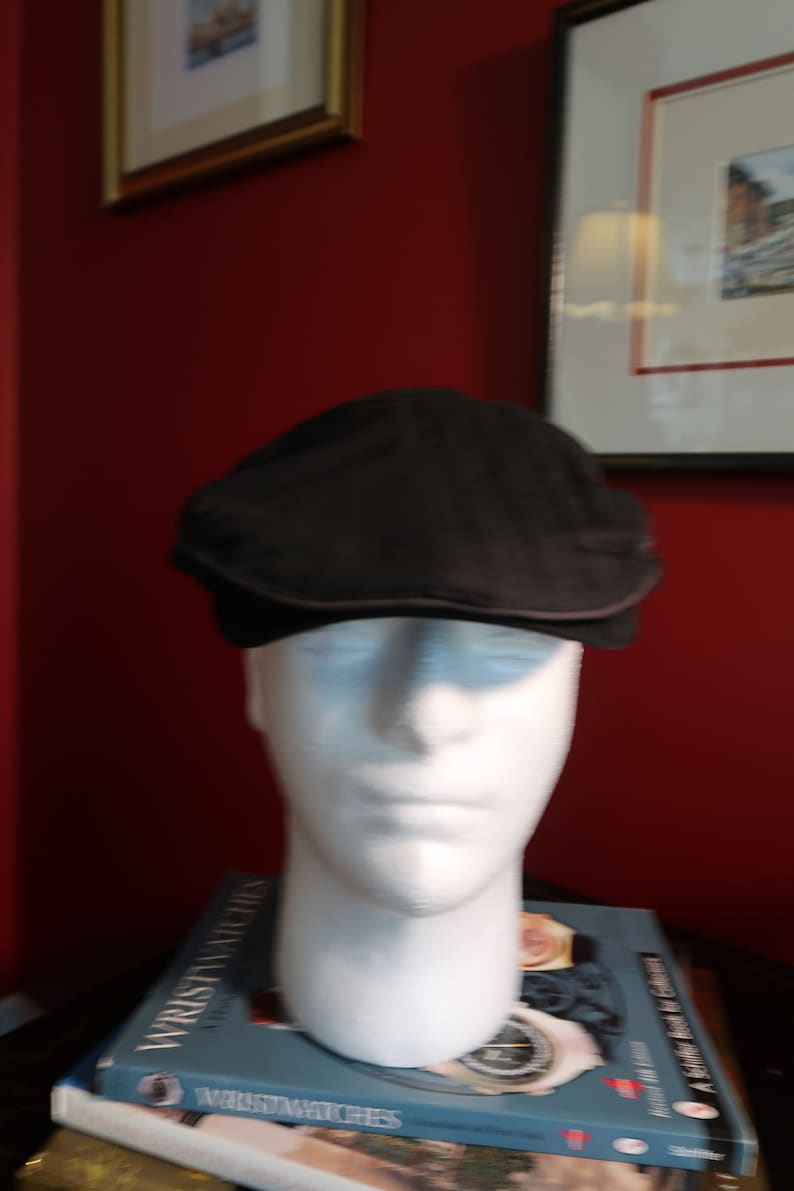 Vintage Newsboy Cap  Cabby Hat  Cappello  Size MediumLarge by Concept One