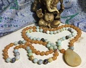 Amazonite, Orange Jade, C...