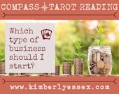Which type of business should I start? Choices Tarot Reading (digital file: PDF, JPG - you print)
