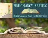 The Little Prince Bibliomancy Reading, Divine Guidance from The Little Prince (digital file: PDF - you print)
