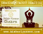 Third Chakra Tarot Reading | 4-Card Solar Plexus Chakra Reading | Manipura Reading (digital file: PDF - you print)