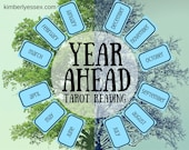 Year Ahead 12-card Tarot ...