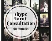 60 minute Skype Tarot Con...