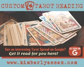 Custom Google Tarot Reading - As Seen on Google Tarot Reading (digital file: PDF, JPG - you print)