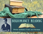 """Jack Kerouac Bibliomancy Reading, Divine Guidance from """"The Collected Poems of Jack Kerouac"""" (digital file: PDF - you print)"""
