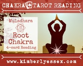 First Chakra Tarot Reading | 4-Card Root Chakra Reading | Muladhara Chakra Reading (digital file: PDF - you print)