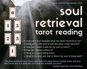 Soul Retrieval 6-card Tarot Reading (digital file: PDF, JPG - you print)
