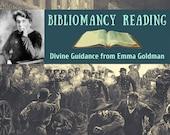 "Emma Goldman Bibliomancy Reading for Social Change, Divine Guidance from ""Living My Life"" (digital file: PDF - you print)"