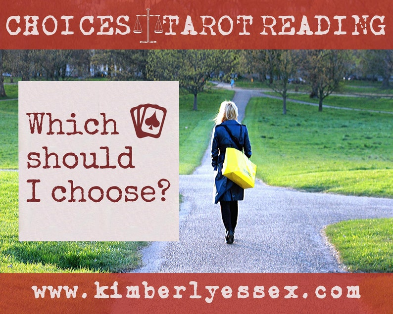 Which should I choose Choices Tarot Reading digital file: image 0