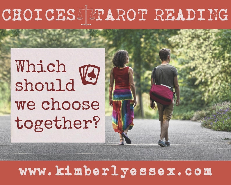 Which should we choose together Choices Tarot Reading image 1