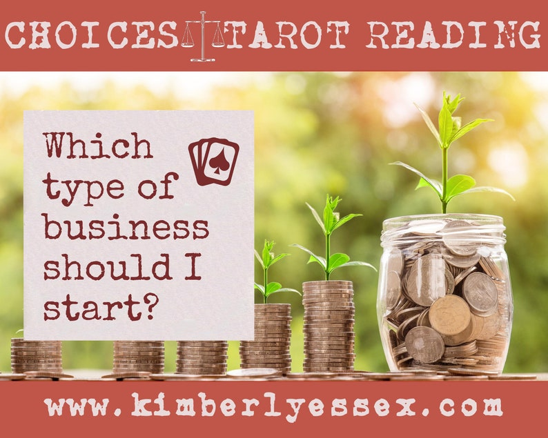 Which type of business should I start Choices Tarot Reading image 0