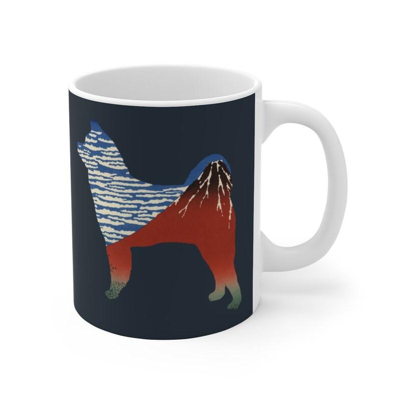 Great Japanese Dog,Cup,Coffee Mug Akita dog,Akita Inu,Akita Ken,Japanese Akita