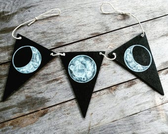 Moon Phase Bunting