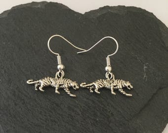 Tiger Earrings / Tiger Jewellery / Cat jewellery / animal earrings / animal jewellery / animal lover gift