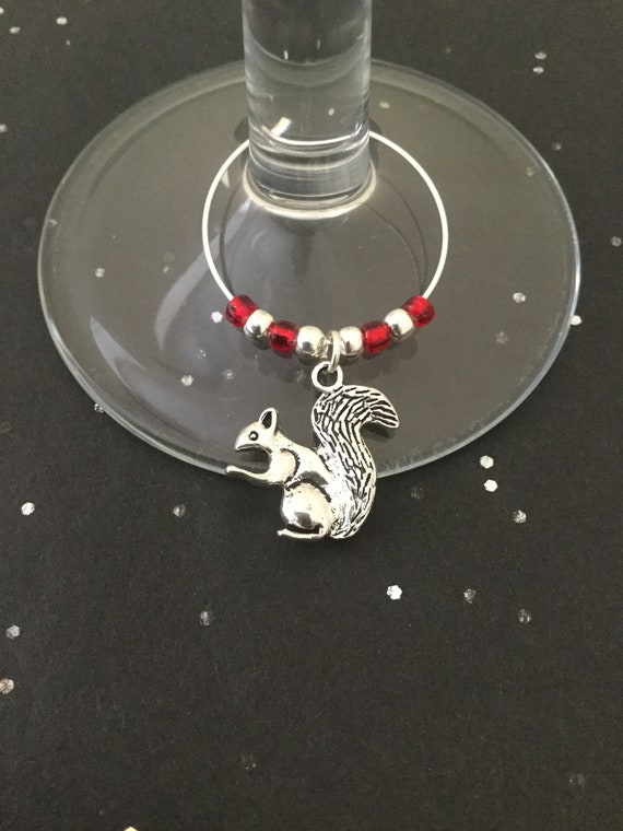 Handmade Mermaid Wine Glass Charm Stocking Filler