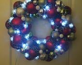 Light up Christmas Wreath...