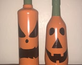 Pumpkin Wine Bottles...