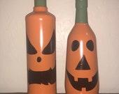 Pumpkin Wine Bottles...