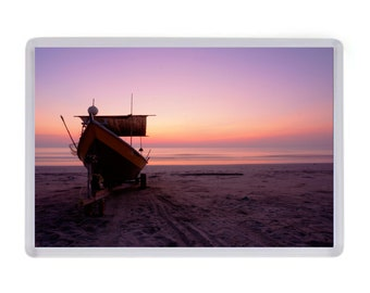 Boat Sunset Fridge Magnet Birthday Fathers Mothers Day Christmas Gift Present