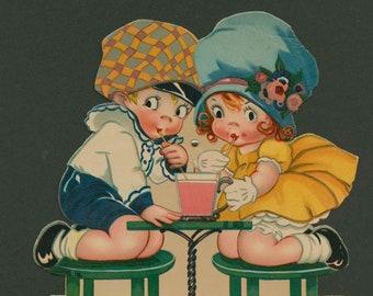 Mechanical Valentine, circa 1925