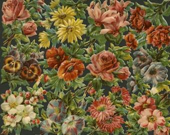 Large Antique Floral Assortment