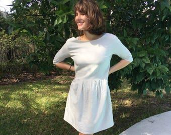 100% linen handmade dress