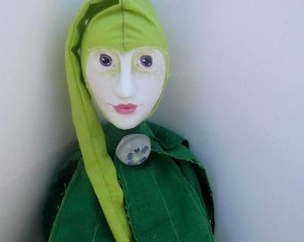 Art Doll OOAK, Interior Doll ~FloscusFlower~