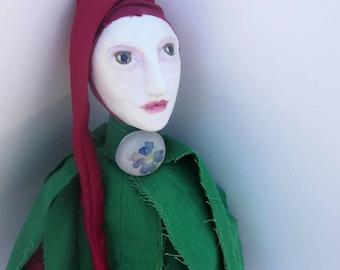 Art Doll OOAK, Interior Doll ~LatusFlower~