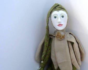 Art Doll OOAK~HortusFlower~