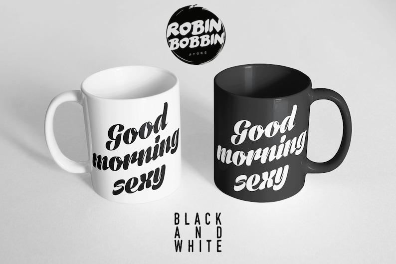 Vaak Good Morning Sexy Coffee Mug Wife Personalized Girlfriend   Etsy @RC62