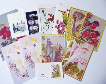 Bulk Lot 12 Vintage Unused Blank Greeting Cards