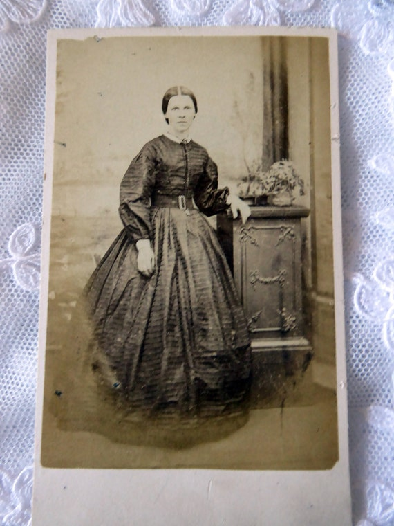 Antique Carte De Visite CDV Photo Visiting Card