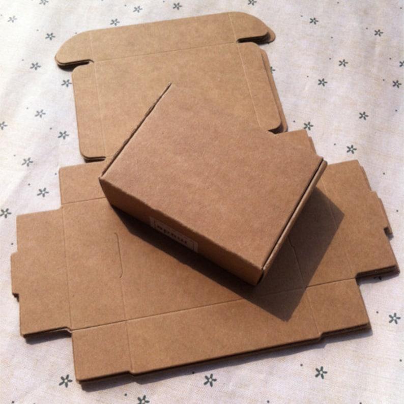 c519c9f8e9c 50pcs 8.5 7 2.3CM Handmade soap box Kraft paper boxes small boxes of  jewelry box... 50pcs 8.5 7 2.3CM Handmade soap box Kraft paper boxes small  boxes of ...