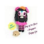 Day of the Dead Amigurumi, Crochet Pattern Bundle