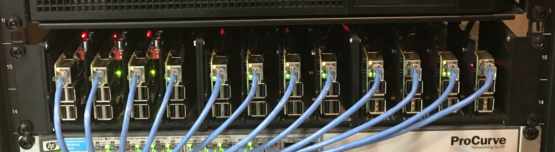 Sbc Storage Rack Rackmount Compatible For Raspberry Pi 3