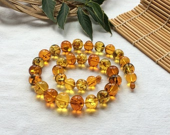 Natural Baltic amber necklace. Baltic amber jewelry, Natural jewelry, Gifts for Women.