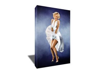 FREE SHIPPING Beauty Icon Marilyn Monroe Canvas Art