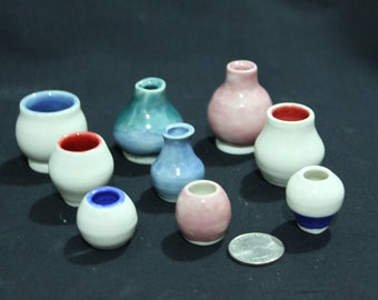 Wheel-Thrown Miniature Pots