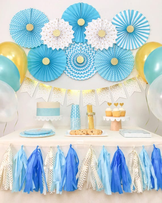 Baby Boy Shower Decorations Birthday Party