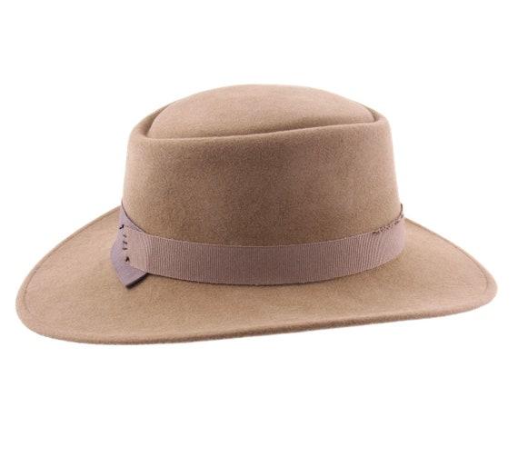 077ac9a045bb9 Felt cordobes Hat Camel Handmade Crushable and Waterproof