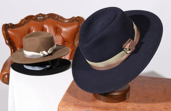 Traveller Felt Crushable Elisa Hat Waterproof Handmade