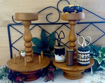 pincushion wood support reproduction