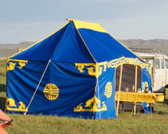 Mongolian Traditional Tent
