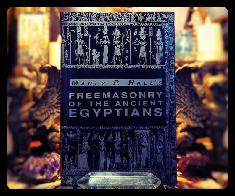 OCCULT EGYPT MAGICK Freemasonry Manly P Hall Secret Ceremonies image 0