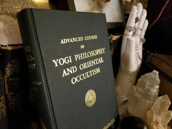 1930's YOGI PHILOSOPHY 80 Year old book Enlightenment occult spirituality  astrology