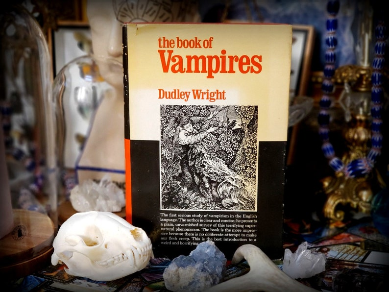 VAMPIRES OCCULT Book Ghosts Witchcraft book Occult Alchemy Magic antique  vintage tarot numerology astrology